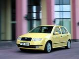 Škoda Fabia 1999–2005 wallpapers