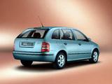 Škoda Fabia Combi 2000–05 photos