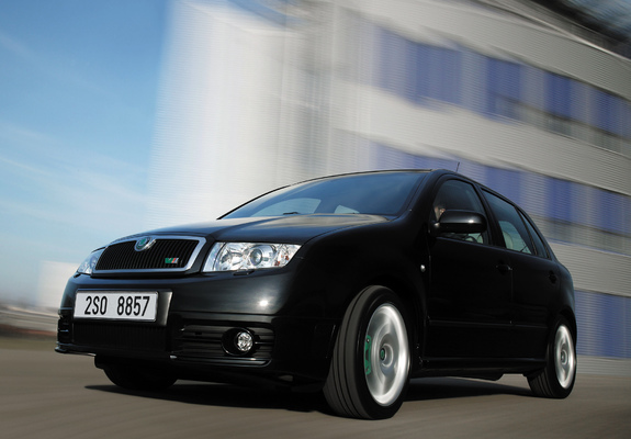 Koda Fabia Rs 6y 200305 Pictures