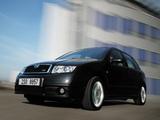 Škoda Fabia RS (6Y) 2003–05 pictures