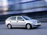 Škoda Fabia Combi 2000–05 wallpapers