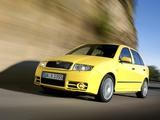 Škoda Fabia RS (6Y) 2005–07 wallpapers
