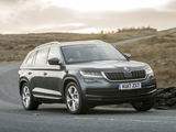 Photos of Škoda Kodiaq UK-spec 2016