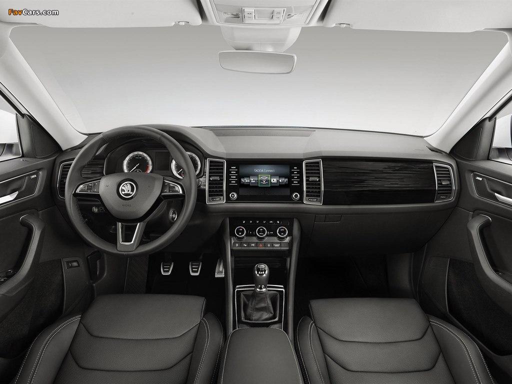 Škoda Kodiaq 2016 pictures (1024 x 768)