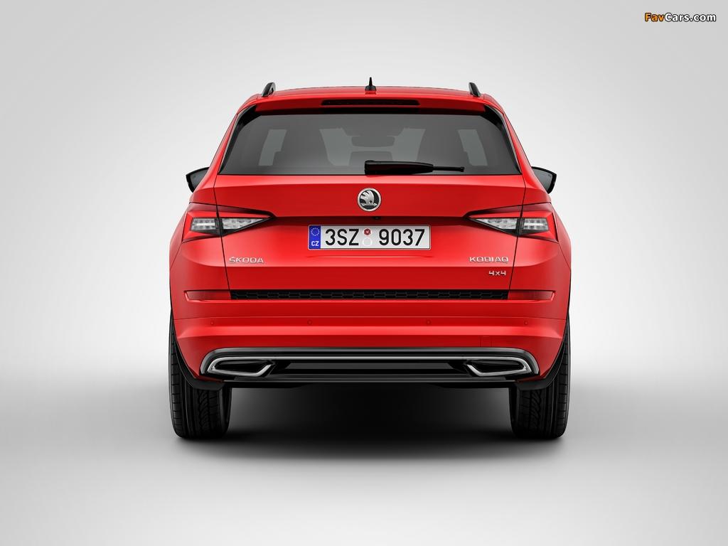 Škoda Kodiaq 4×4 Sportline 2017 images (1024 x 768)