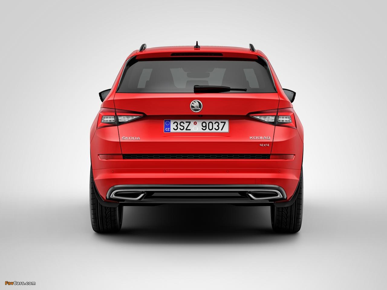 Škoda Kodiaq 4×4 Sportline 2017 images (1280 x 960)