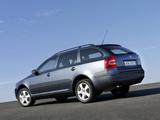 Photos of Škoda Octavia Combi (1Z) 2004–08