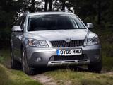 Photos of Škoda Octavia Scout UK-spec (1Z) 2009