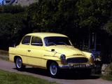Pictures of Škoda Octavia UK-spec (Type 985) 1959–64