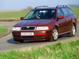 Pictures of Škoda Octavia Combi 4x4 UK-spec (1U) 2000–04