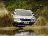 Pictures of Škoda Octavia Scout UK-spec (1Z) 2007–08