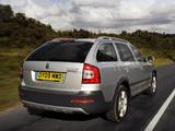 Pictures of Škoda Octavia Scout UK-spec (1Z) 2009–13