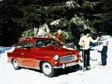 Škoda Octavia (Type 985) 1959–64 pictures