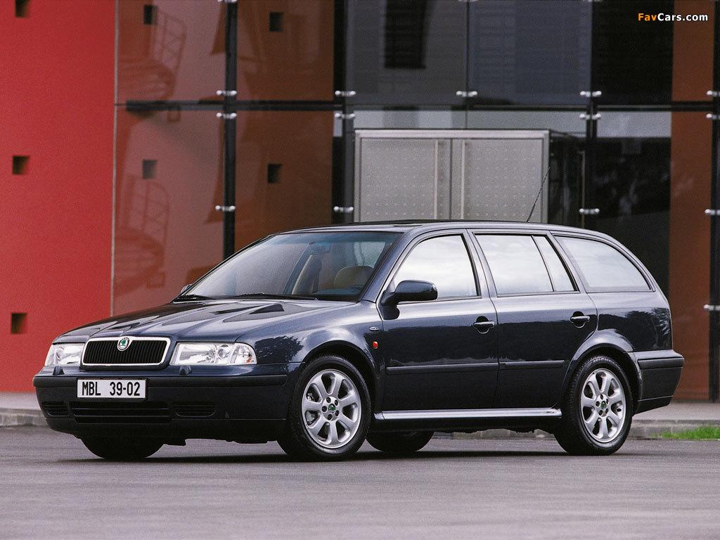 Škoda Octavia Combi (1U) 1996–2000 photos (1024 x 768)