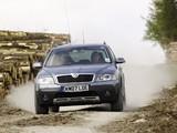 Škoda Octavia Scout UK-spec (1Z) 2007–08 images