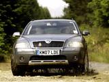 Škoda Octavia Scout UK-spec (1Z) 2007–08 pictures