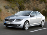 Škoda Octavia (5E) 2013 wallpapers