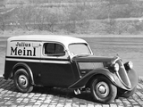Škoda Popular Van 1934–40 wallpapers