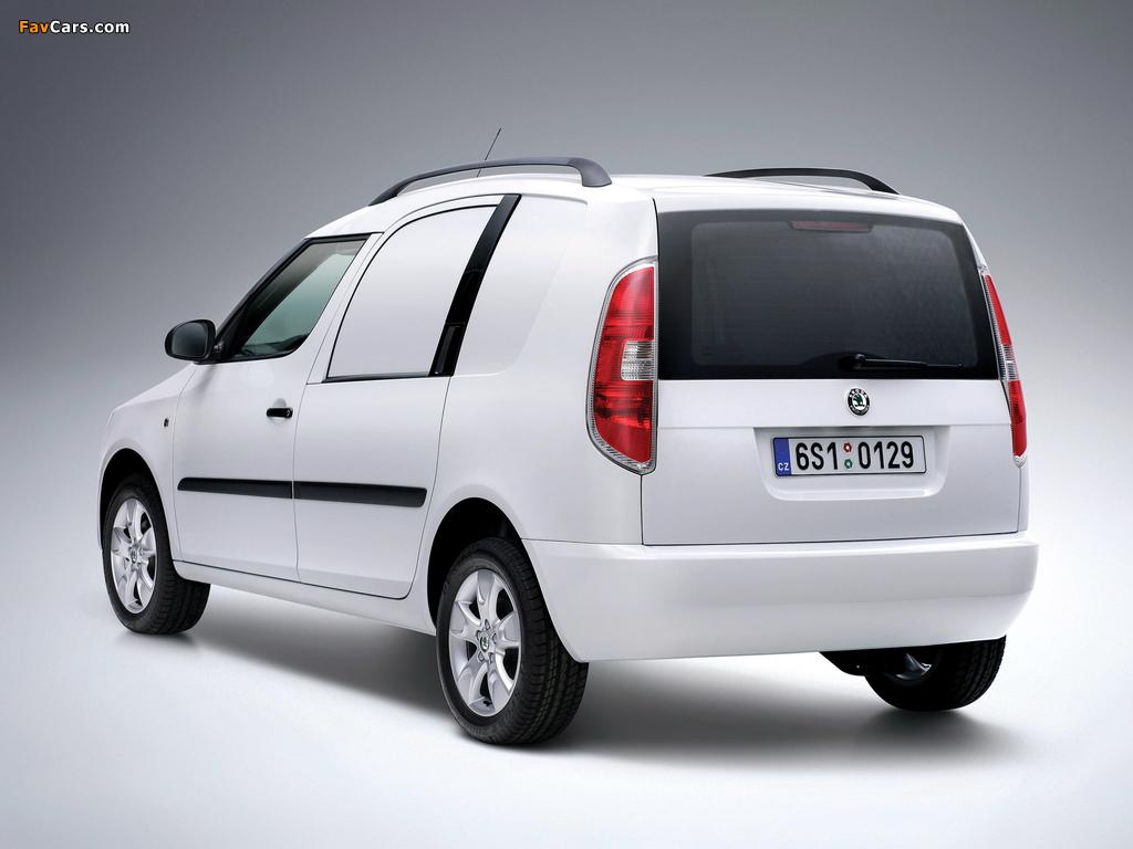 Images of Škoda Praktik 2007–10 (1024 x 768)