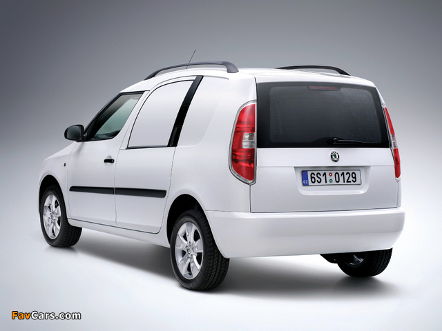 Images of Škoda Praktik 2007–10 (640 x 480)