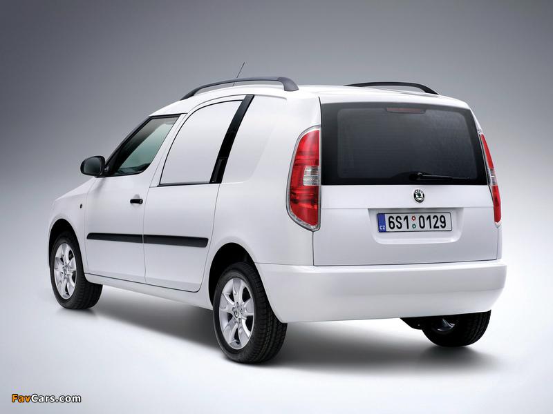 Images of Škoda Praktik 2007–10 (800 x 600)