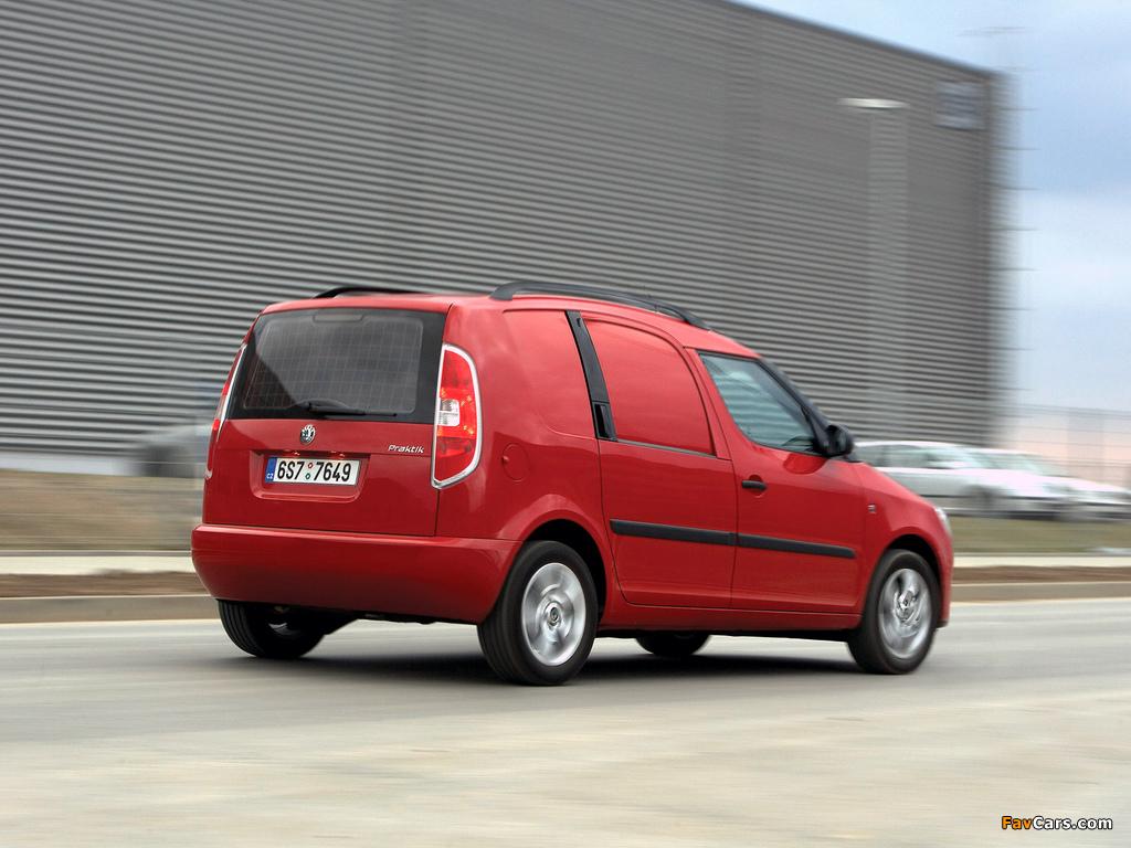 Photos of Škoda Praktik 2007–10 (1024 x 768)
