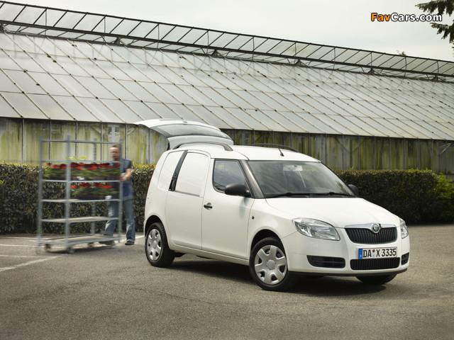 Škoda Praktik 2007–10 pictures (640 x 480)
