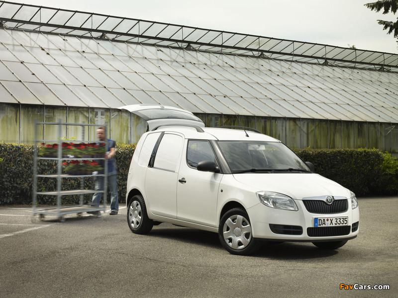 Škoda Praktik 2007–10 pictures (800 x 600)