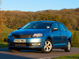 Pictures of Škoda Rapid UK-spec 2012