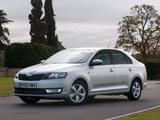 Škoda Rapid UK-spec 2012 photos