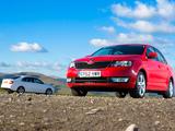 Škoda Rapid UK-spec 2012 pictures