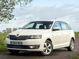 Škoda Rapid Spaceback UK-spec 2013 wallpapers