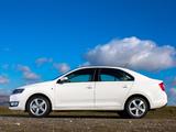 Škoda Rapid UK-spec 2012 wallpapers