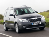 Photos of Škoda Roomster Scout UK-spec 2010