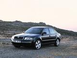 Photos of Škoda Superb 2002–06