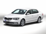 Pictures of Škoda Superb GreenLine 2013