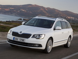 Pictures of Škoda Superb Combi Laurin & Klement 2013