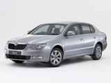 Škoda Superb AU-spec 2008–13 photos