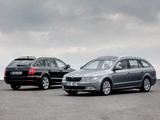 Škoda Superb Combi 2009–13 images