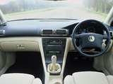 Škoda Superb UK-spec 2001–06 wallpapers