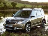 Images of Škoda Yeti Outdoor Laurin & Klement UK-spec 2014