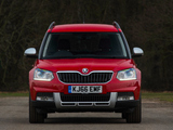 Images of Škoda Yeti Outdoor UK-spec 2014