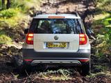 Photos of Škoda Yeti UK-spec 2009–14