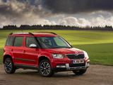 Photos of Škoda Yeti Outdoor UK-spec 2014