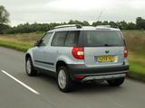 Pictures of Škoda Yeti UK-spec 2009–14