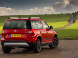 Pictures of Škoda Yeti Outdoor UK-spec 2014