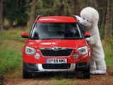 Škoda Yeti UK-spec 2009–14 photos