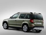 Škoda Yeti Outdoor 2013 wallpapers