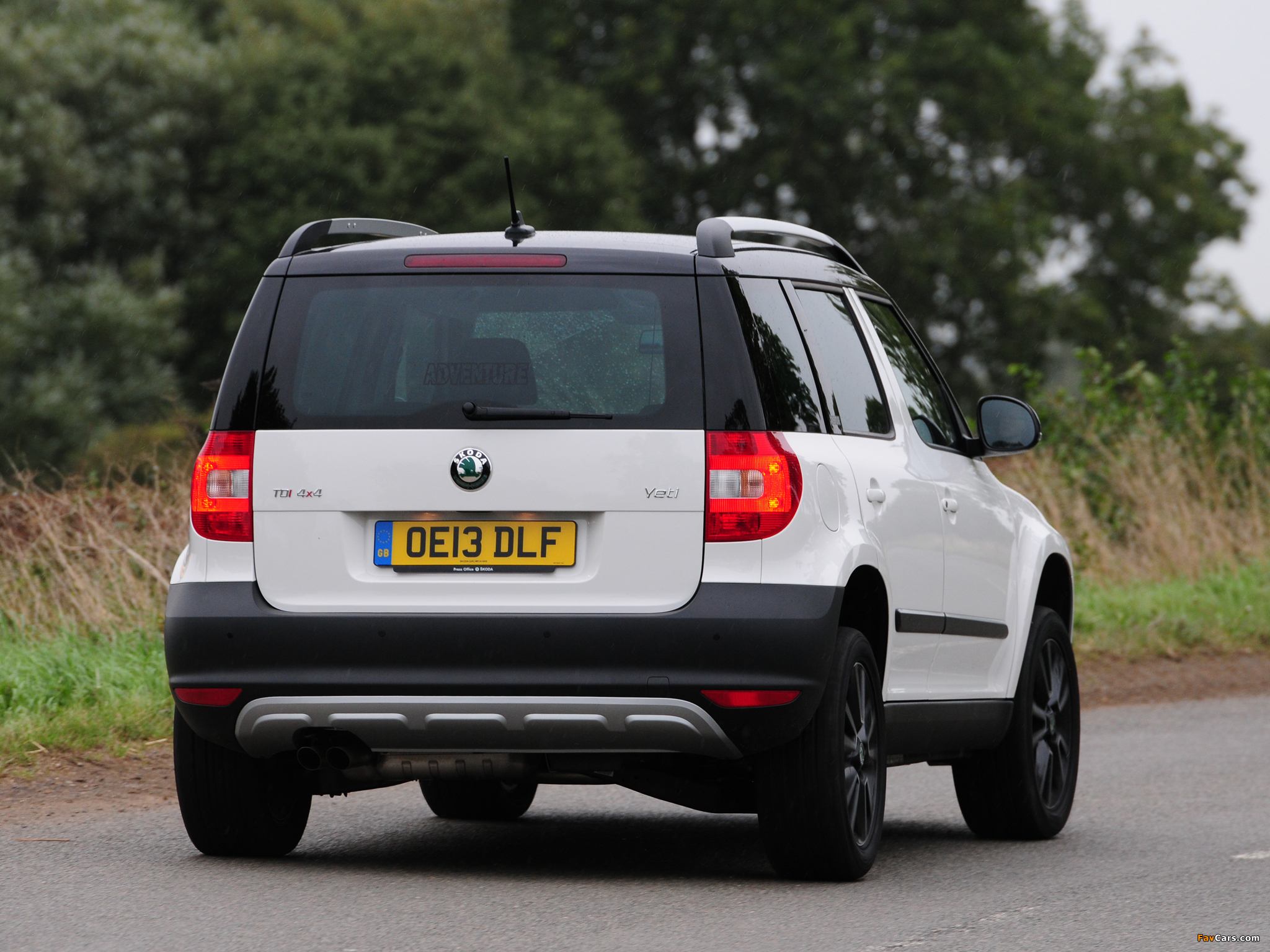 Skoda Yeti Adventure Uk Spec 2013 Wallpapers 2048x1536