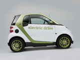 Smart ForTwo Electric Drive UK-spec 2009–11 photos